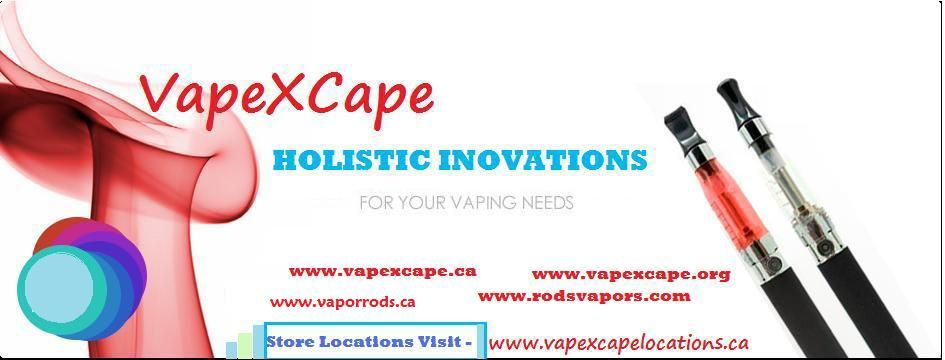 VAPEXCAPE the Electronic Recheargable Ciggarettes Store with E-Juice