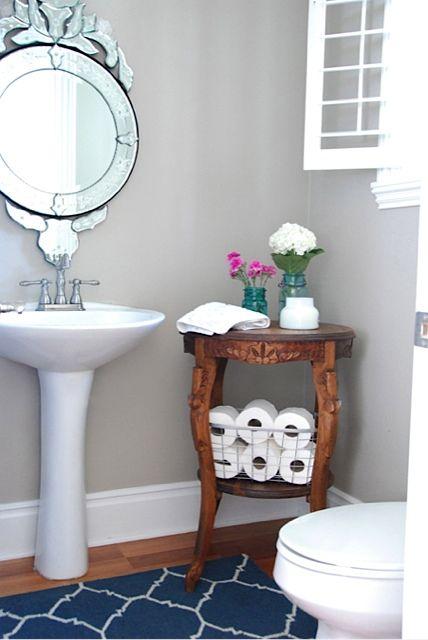 Powder room for the home pinterest ba os ba o y for Pinterest decoracion banos