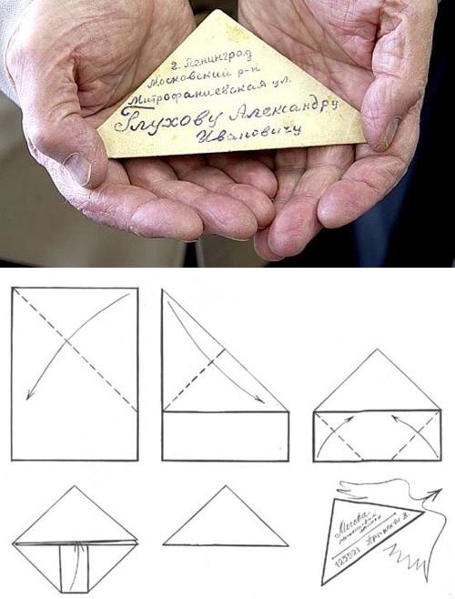 Как сделать треугольник открытку, открытки маме день