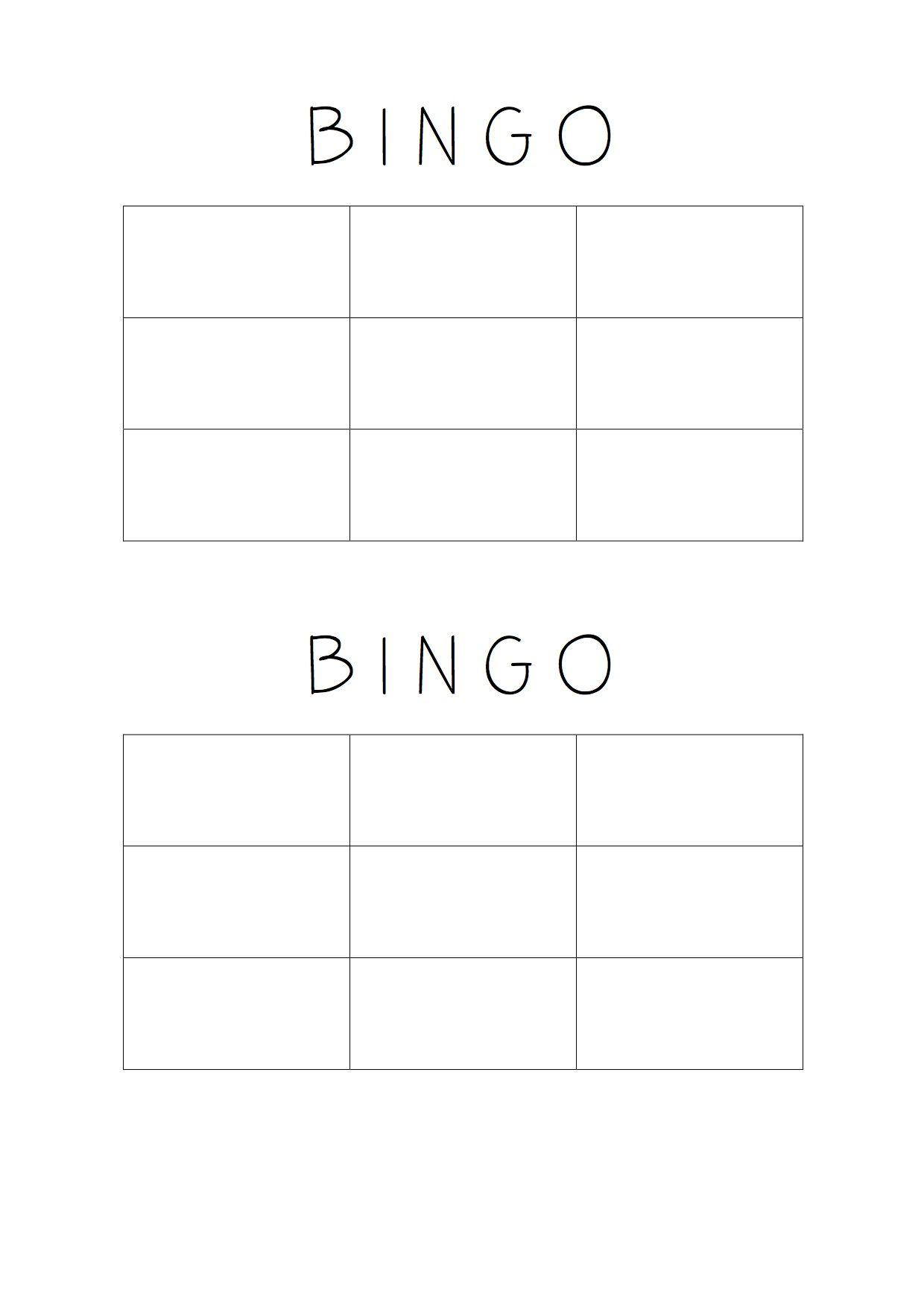 PLANTILLA DE BINGO. ELENA | Mates | Pinterest | Plantilla de bingo y ...