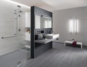 Fesselnd Badezimmer Anthrazit Wei Liebenswert Design Badezimmer Fliesen Wei Und  Anthrazit