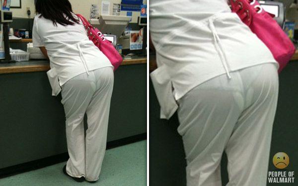 if u have ur period n ur pad is bigger than ur underwear ...