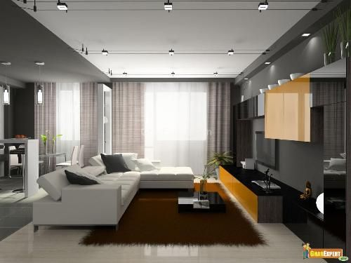Amazing Track Lighting For The Living Room