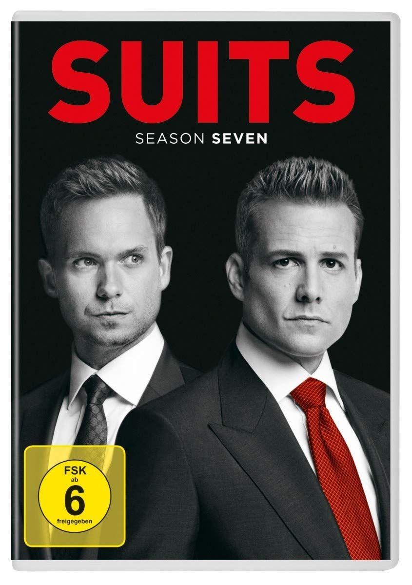Suits Season 7 4 Dvds Amazon De Gabriel Macht Patrick In 2020 Suits Serien Dvd