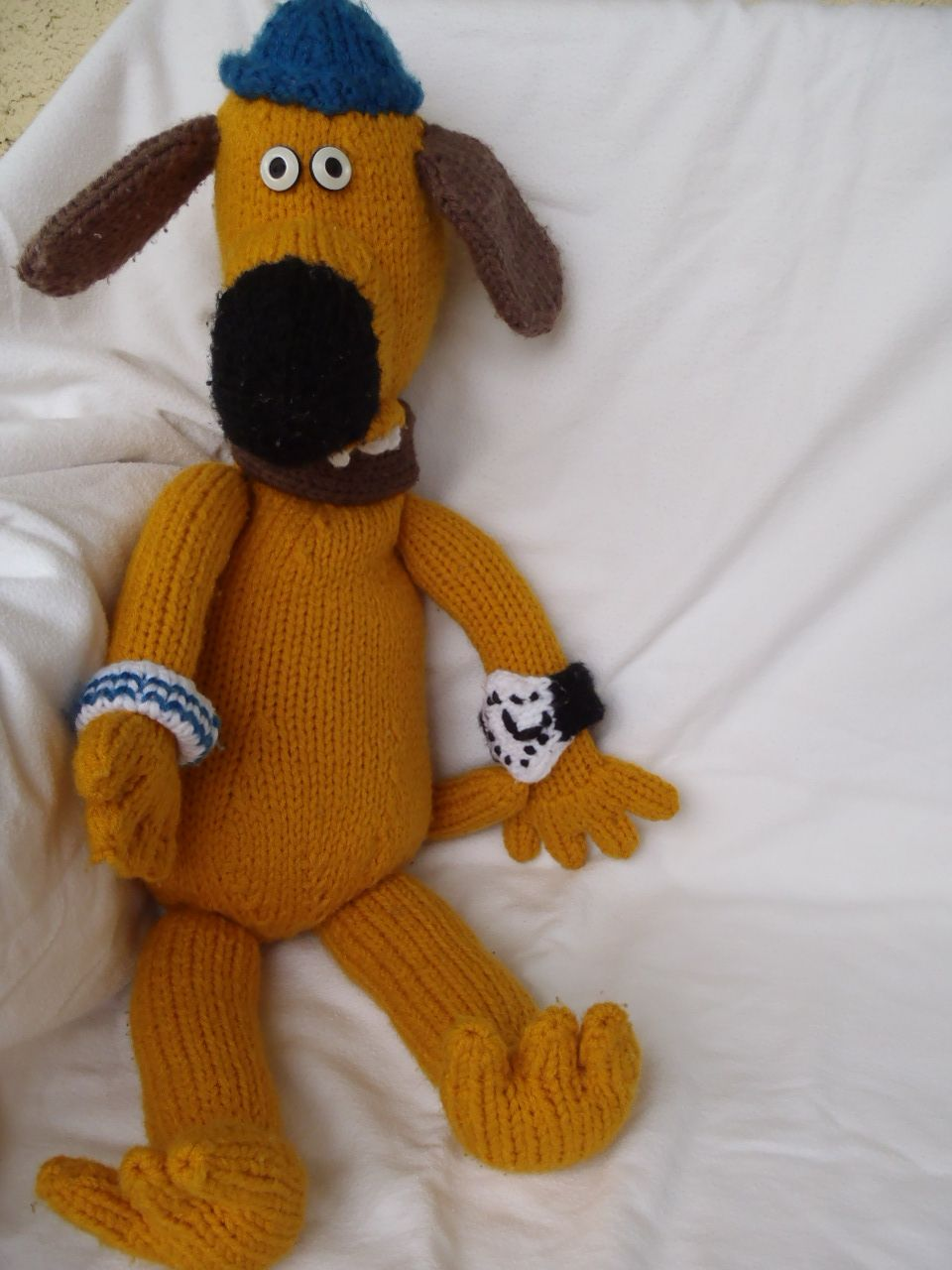 89e3a356cef2 Free knitting pattern for Bitzer the Dog by Stana s Critters Etc ...