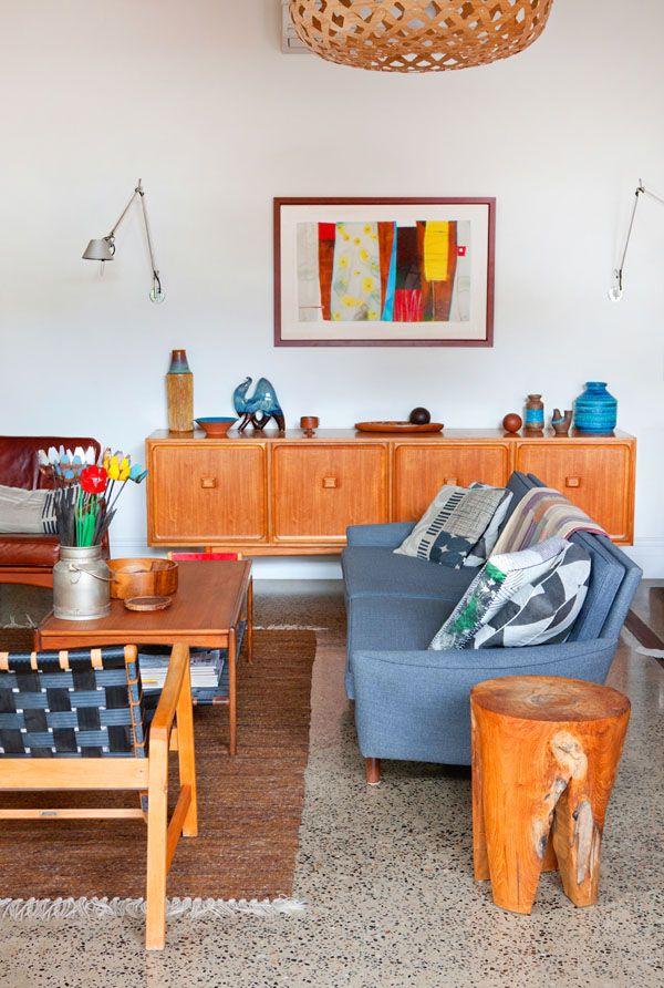 Rebekah Cichero And Family Nest Mid Century Modern