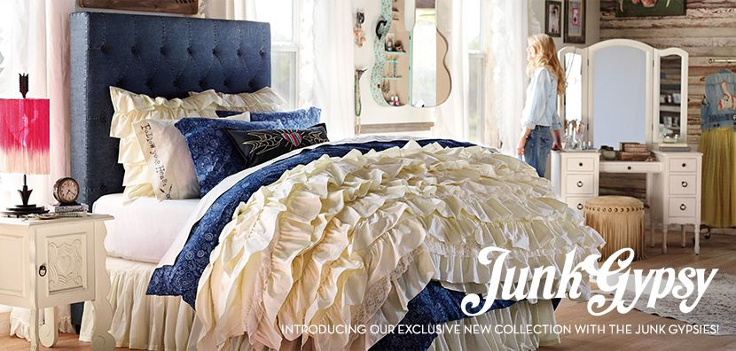 Elegant The Junk Gypsy Collection | PBteen~~This Is The Coolest Teen Bedroom Ever!