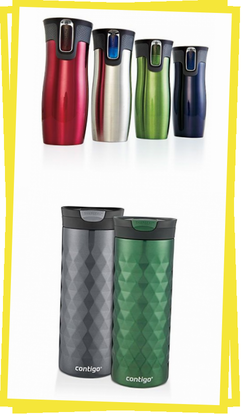 Contigo stainless-steel travel mugs. Can't say enough good things about these! Keeps drinks warm for at least 4 hours, and ice stays frozen for as long as 6 hours! I don't use a spoon to stir my coffee in the morning. I just seal and shake! The same brand water bottles are fantastic too!  #Editors #April #Cooking #Light #travelingtoireland #ustravel #travelabroad #israeltraveltips #cambodiatravel #travelideas #irelandtravelideas #sweedenideas