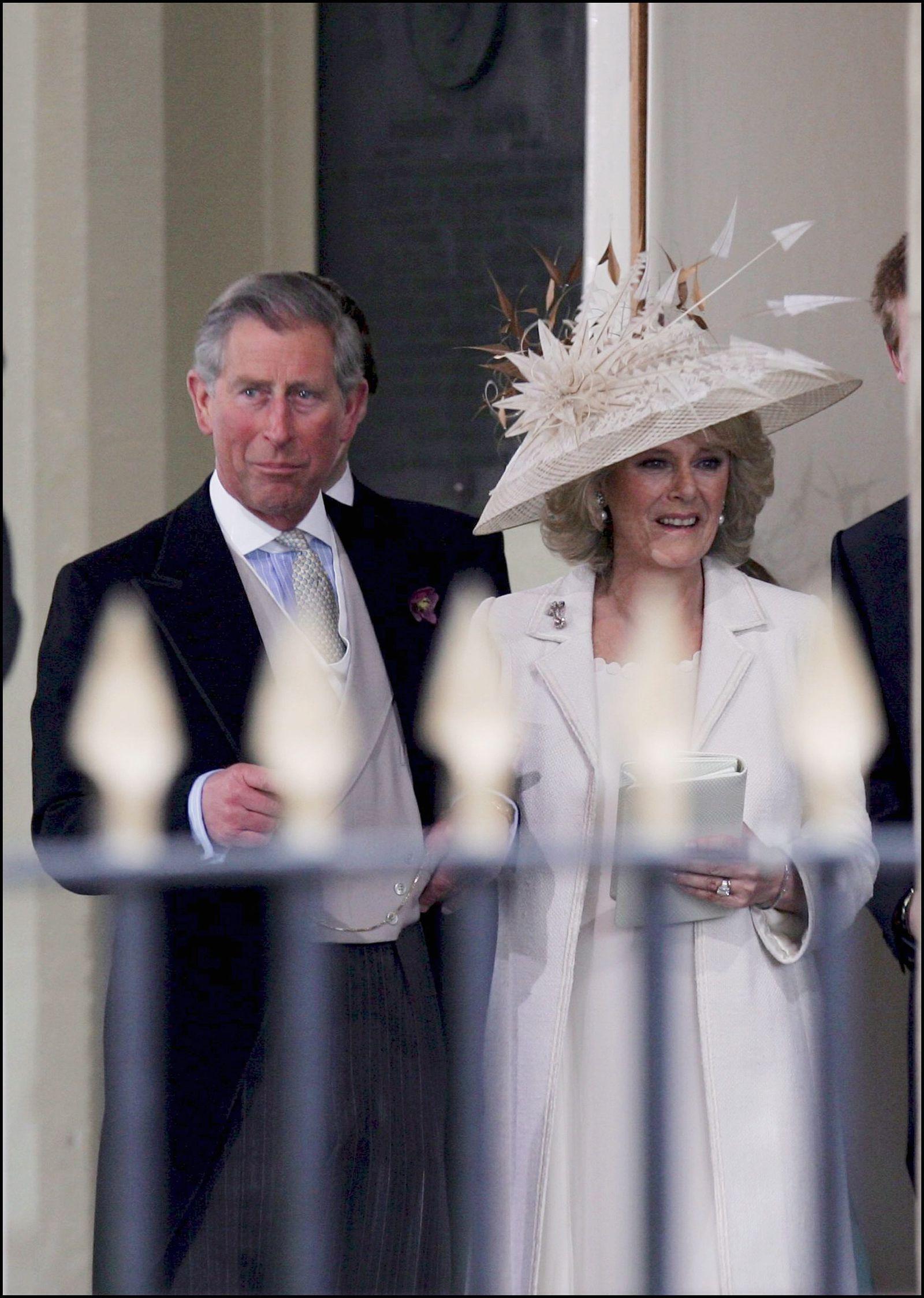 Prince Charles and Camilla Parker Bowles' Wedding Had to