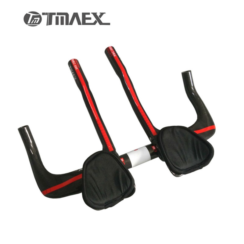 34.00$  Watch here - http://alirsn.shopchina.info/go.php?t=32770741999 - TMAEX-080 100% Carbon Fiber Road Bicycle  TT Rest Handlebar With TT Extention Bar Road Carbon TT Bar 3K Red Glossy 480g 34.00$ #buyonline