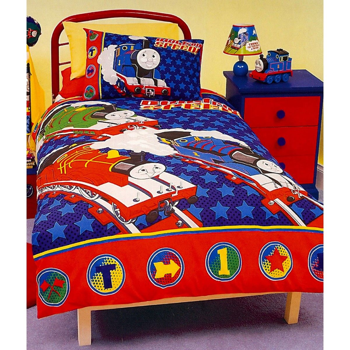 Thomas And Friends Quilt Cover Set Quilt Cover Sets Thomas And