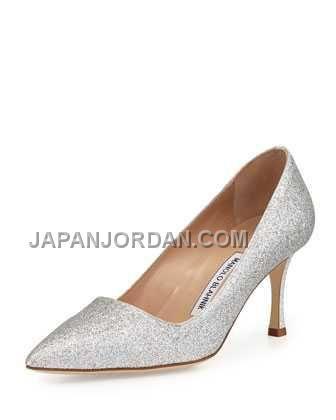 https://www.japanjordan.com/manolo-blahnik-bb-glitter-70mm-pump-silver.html 本物の MANOLO BLAHNIK BB GLITTER 70MM PUMP 銀 Only ¥20,805 , Free Shipping!