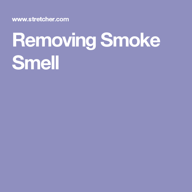 How To Remove Smoke Smell From Your Car