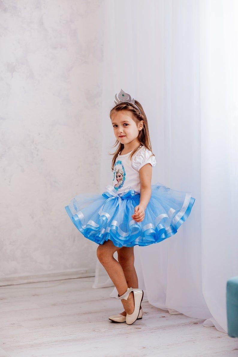 Birthday Princess Tutu Outfit, Birthday Tutu Set, 5th Birthday, Personalized Tutu Outfit