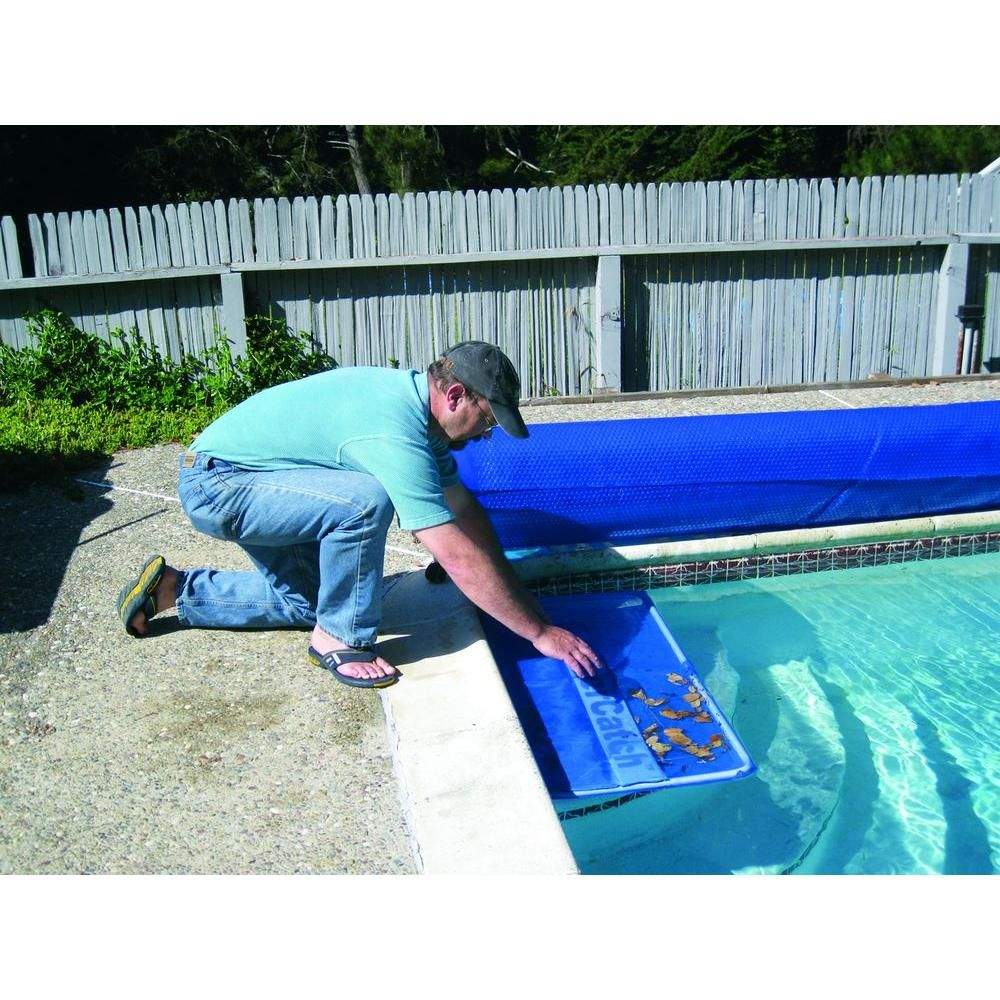 Poolmaster Swimming Pool Cover Catch For Inground Pool 29016 The Home Depot Solar Cover Solar Pool Pool Cover