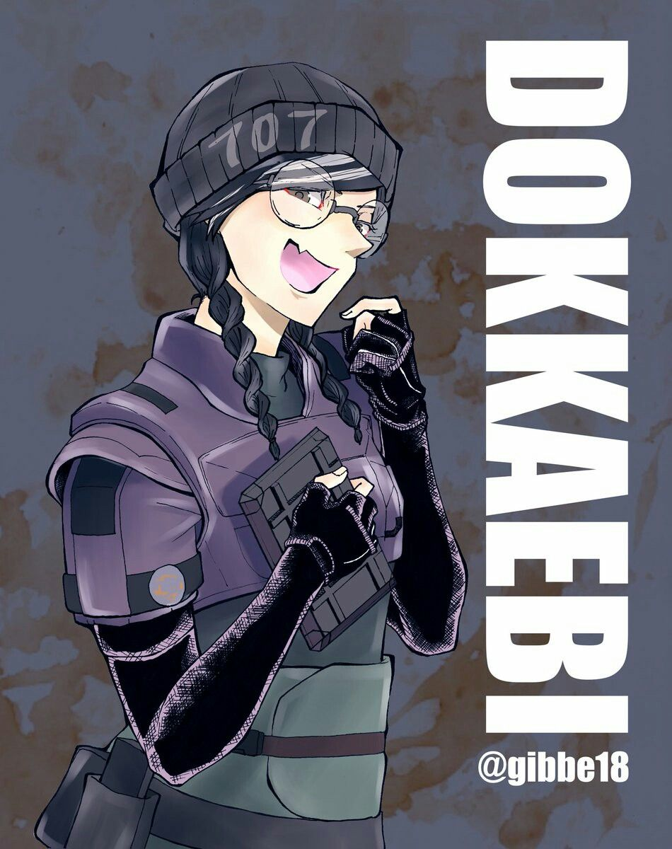Dokkaebi Rainbow Six Siege Anime Rainbow Six Siege Art Rainbow Art