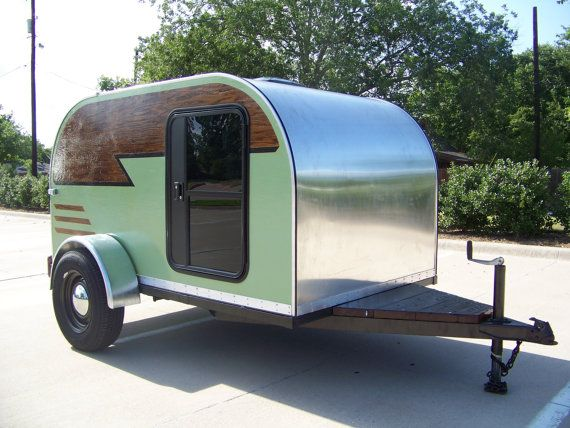 Comanche Cocoon Handmade Teardrop Camper For Sale