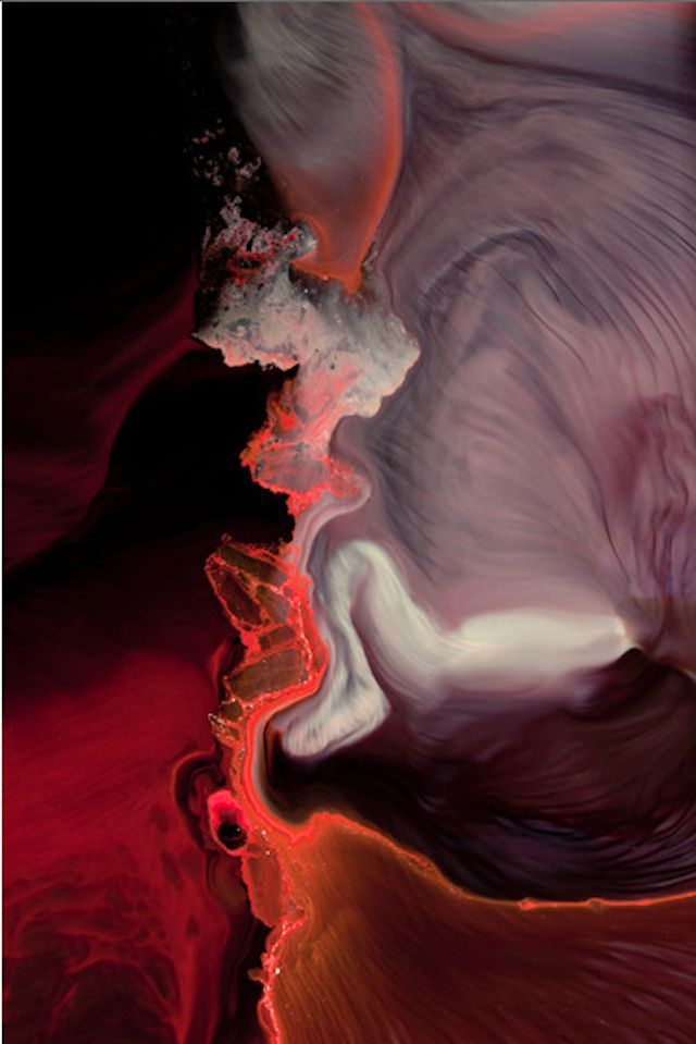 Abstract Mix of Chemistry & Photography - Nicholas Alan Cope