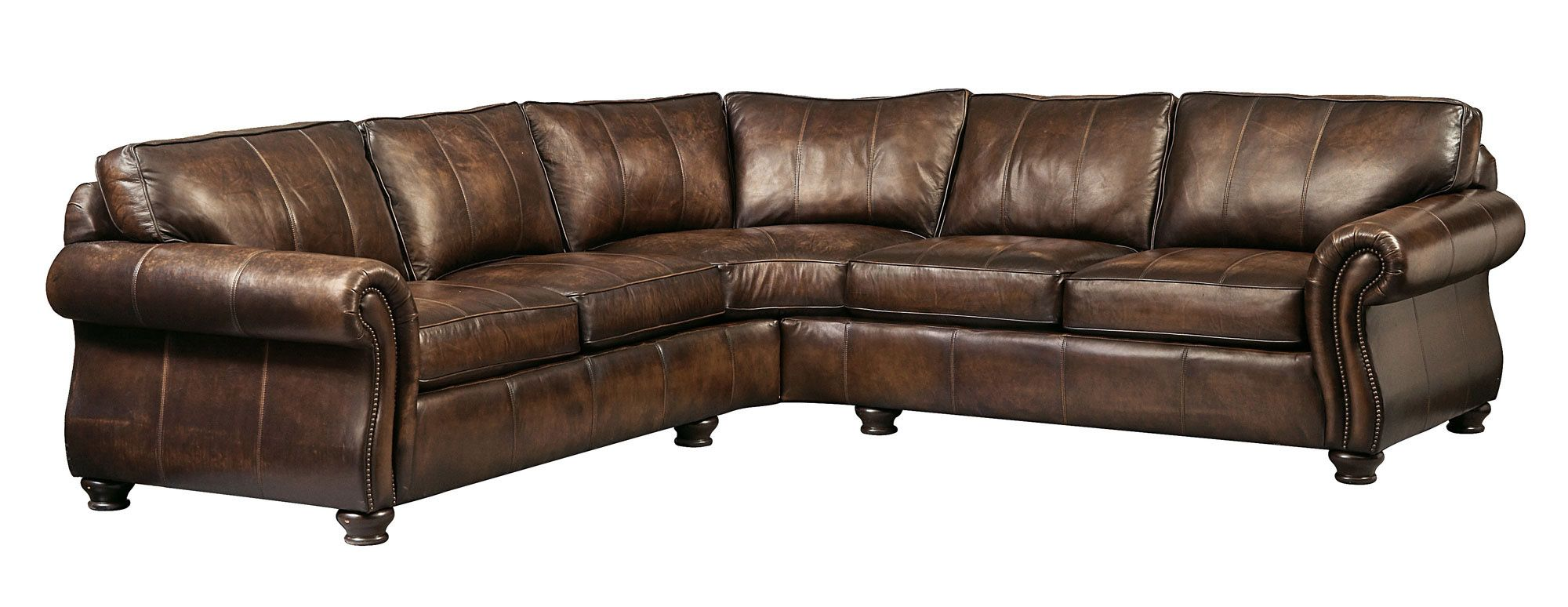 Shop For Bernhardt Leather Sectional Group, And Other Living Room  Sectionals Pieces Shown: Left Arm Sofa. Right Arm Sofa. Pillows: Loose Back  Pillows With ...
