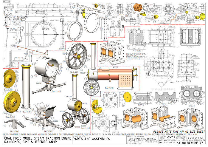 Ransomes 3 In 2020 Technical Drawing Mechanical Design Steam Engine Model