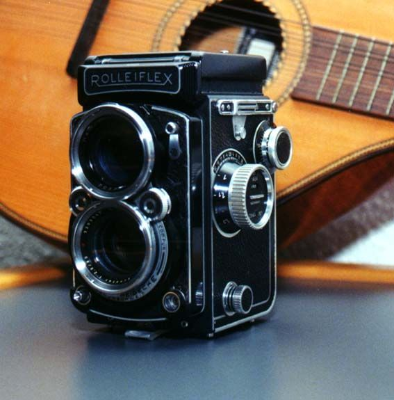 Rolleiflex2 8c--Love! It's stolen my heart! | Tattoo | Twin