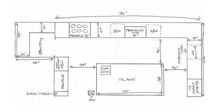 dream kitchen layout from chinese grandma | Shanghai Project ...