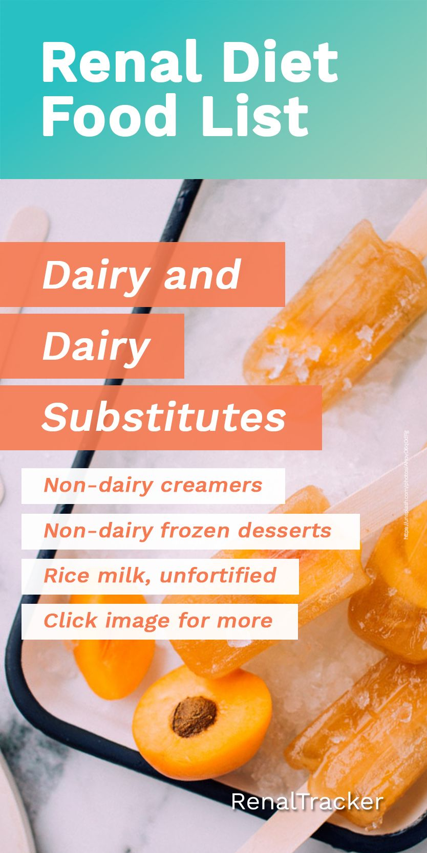 can you have dairy on a renal diet