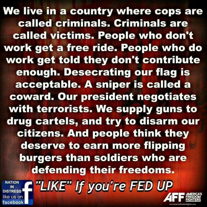So true! Wake up America!
