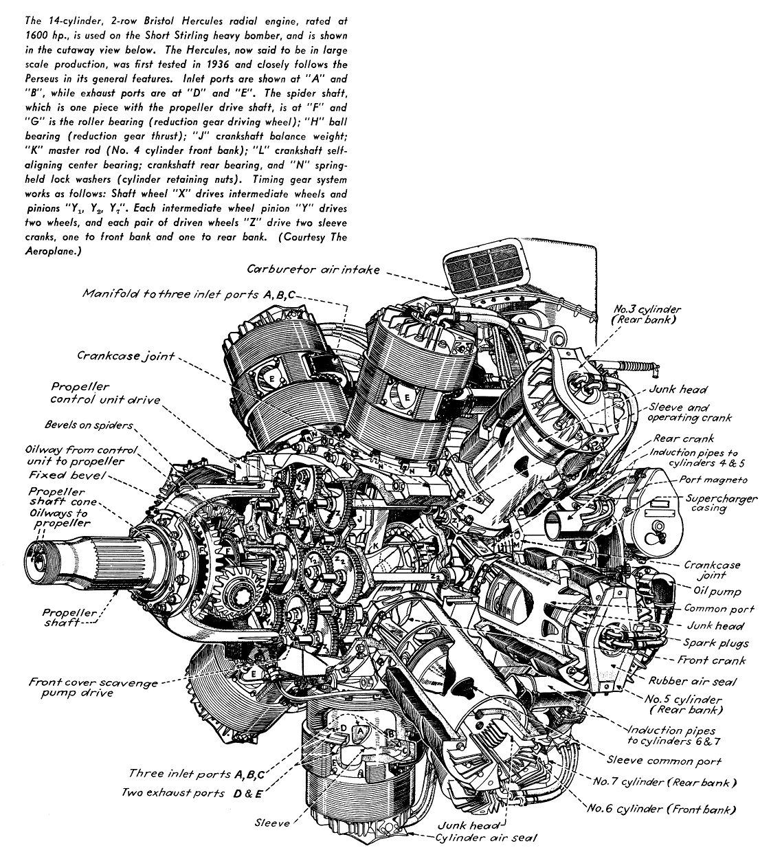 ww2 aircraft cutaways