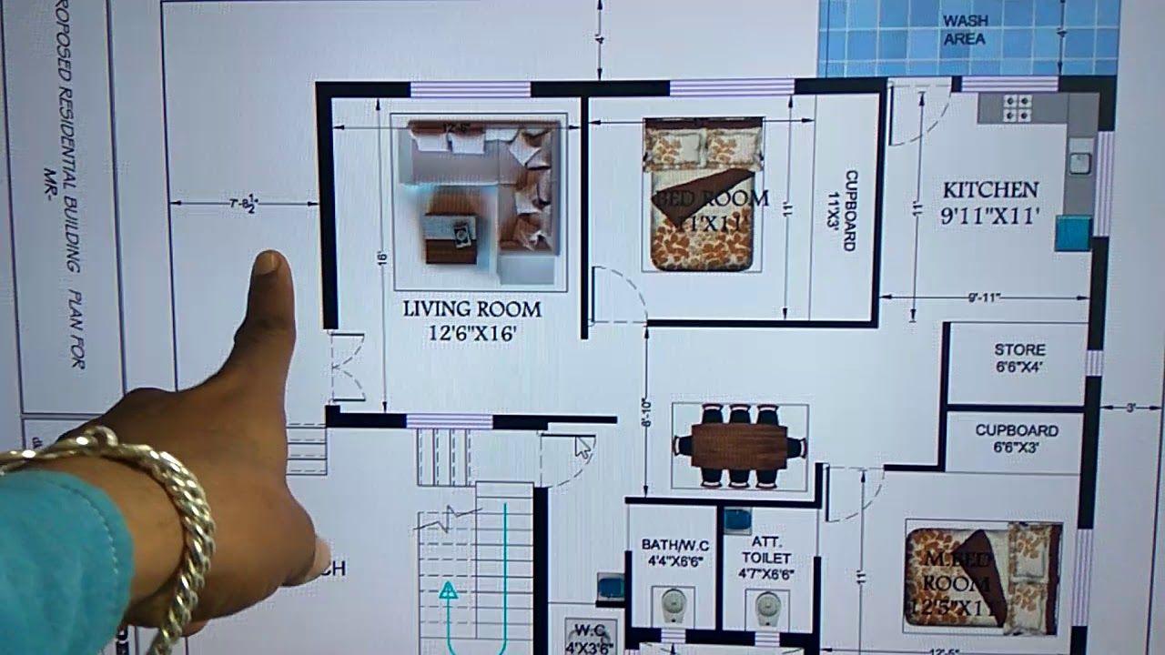 35 X 50 Modern House Plan Modern House Plan House Plans Modern House