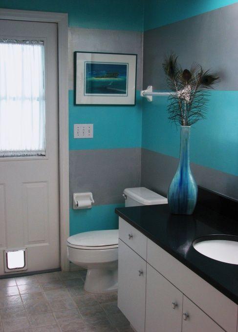 I Like The Large Stripes Kids Bathroom Paint Bathroom Pirate
