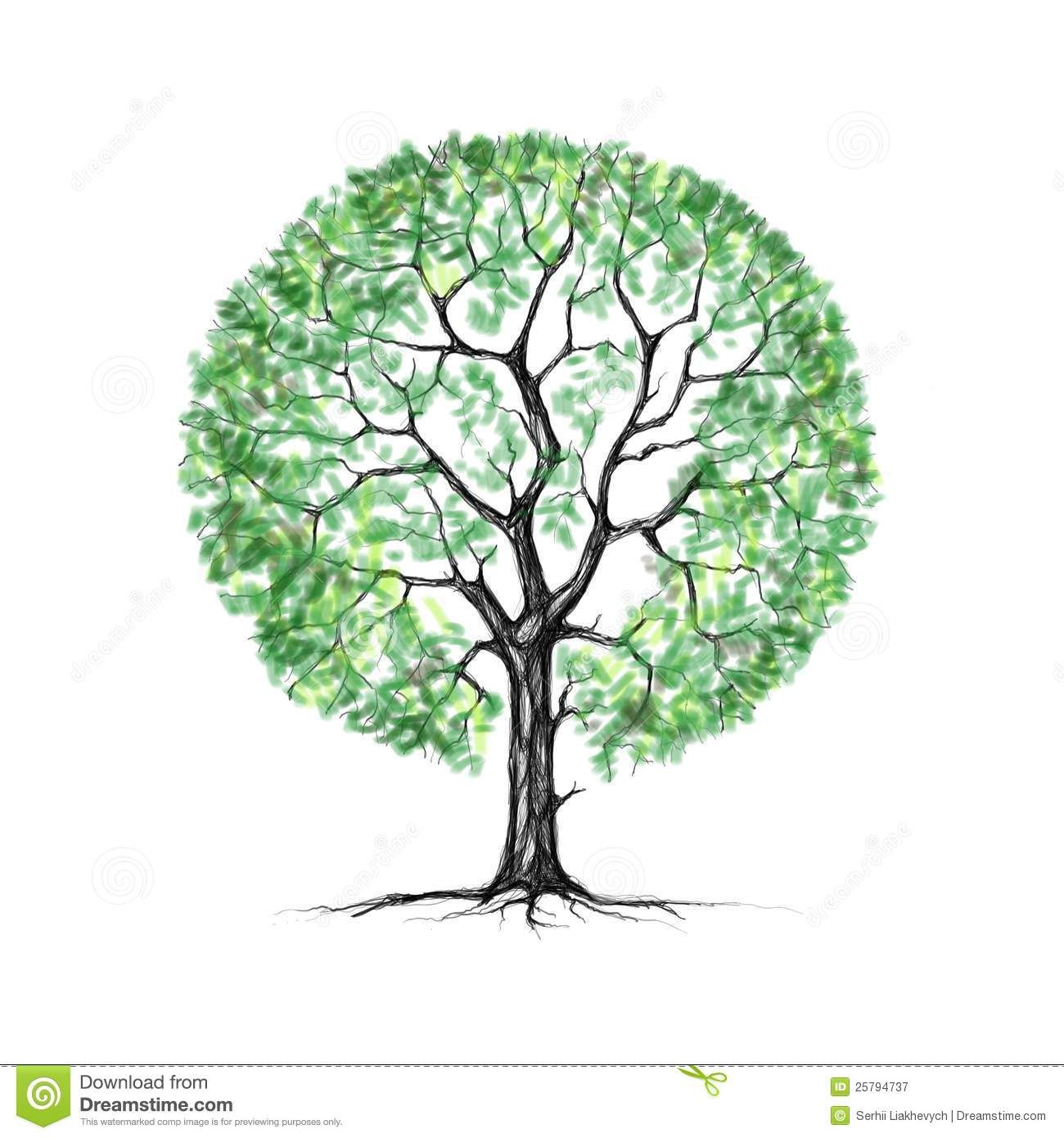 summer tree drawing - Google-Suche | trees, trees, & MORE TREES ...