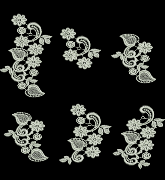TS1004 - Alencon Lace 6