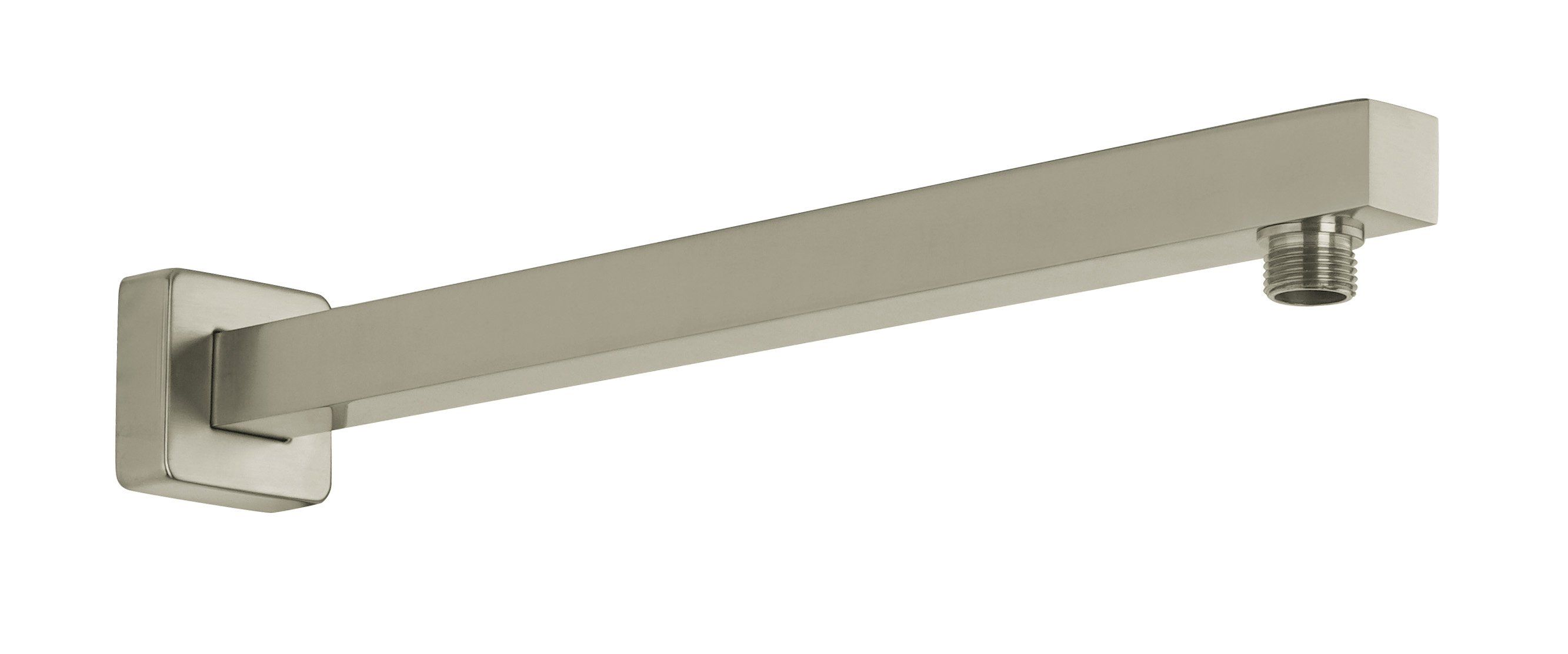 Latoscana Wall Mounted Shower Arm With Strengthened Fixing Brushed Nickel Shower Arm Shower Decorating Blogs