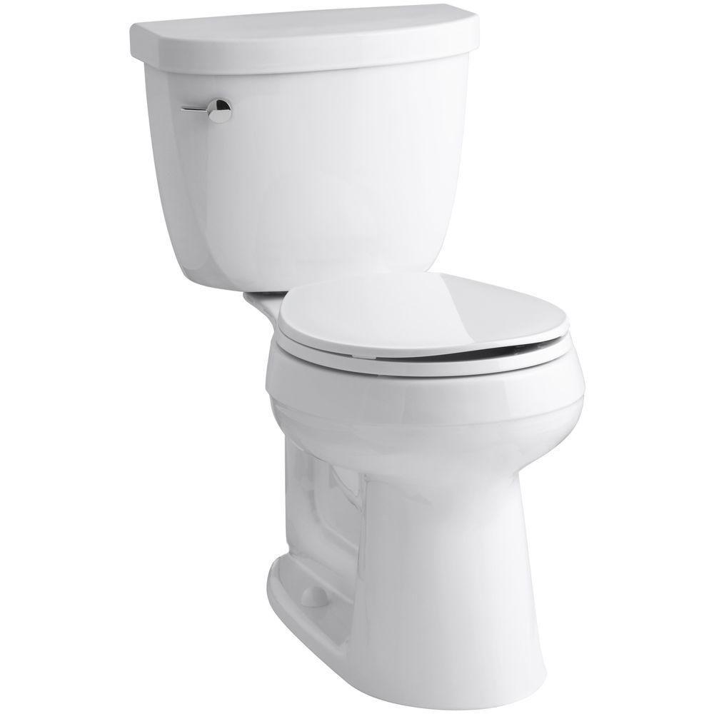 Kohler Cimarron Comfort Height 2 Piece 1 6 Gpf Single Flush Round