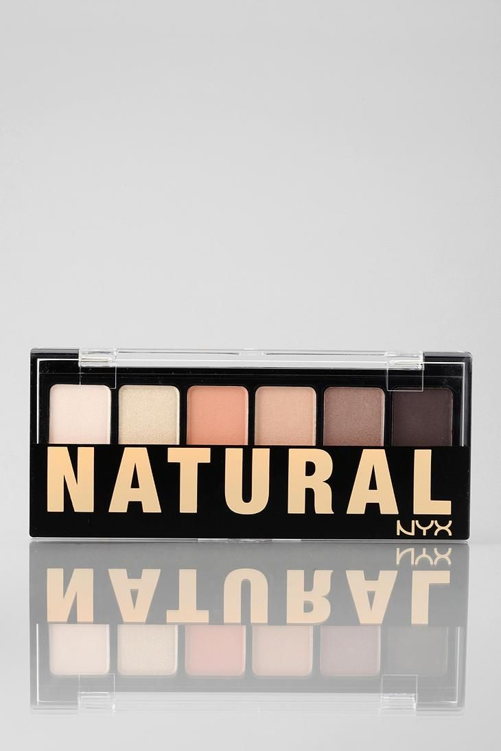 NYX Natural Eye Shadow Palette #urbanoutfitters