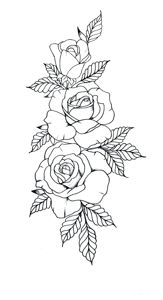 Pin On Tattoos Tattoo Stencils Outline Simple Jul 9 2020 This Pin Was Discovered By Lari In 2020 Tattoo Stencil Outline Floral Tattoo Sleeve Rose Drawing Tattoo