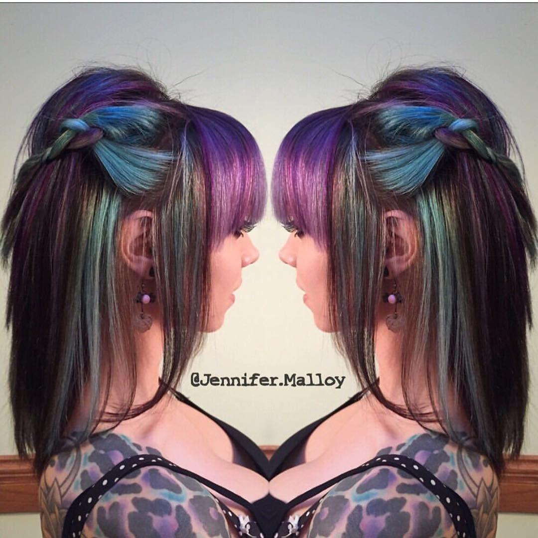 "Hot on Beauty no Instagram: ""#1000orbust Big shoutout for @jennifer.malloy You are going to ❤️ her page! Please FOLLOW @jennifer.malloy @jennifer.malloy @jennifer.malloy Help her reach 1000 followers! SPONSORED BY @hotonbeauty @nothingbutpixies @imallaboutdahair @hairitagesaloncarlsbad @xostylistxo @mermaidians @hairgod_zito @cynthialumzy @jaywesleyolson #stylistsupportstylist #wesupportyou"""