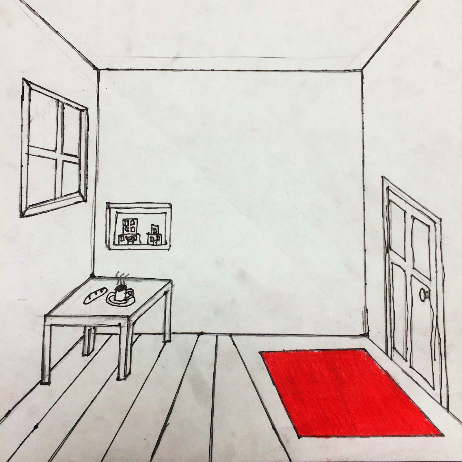 The Helpful Art Teacher Draw A Surrealistic Room In One