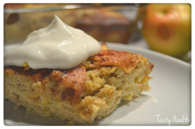 Tasty Health: Superenkel saftig äppelkaka (glutenfri och sockerfri)
