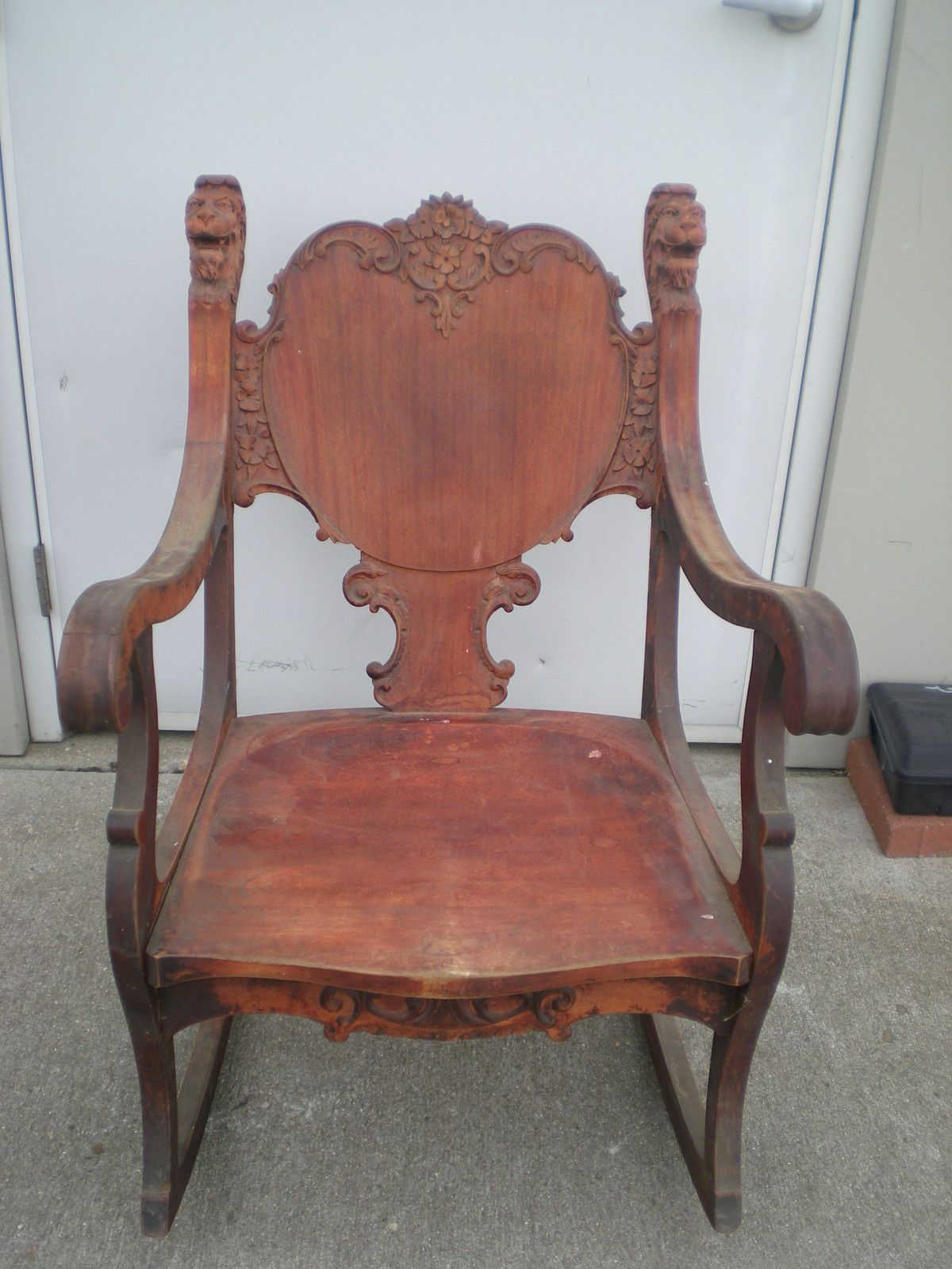 Pre -1800's Antique Rocking Chair - Pre -1800's Antique Rocking Chair ANTIQUE FURNITURE Pinterest