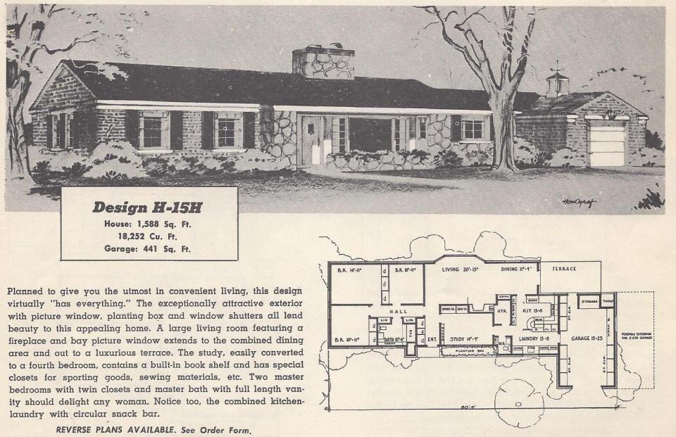 Vintage House Plans 15h Vintage House Plans Ranch Style House Plans Ranch House Plans