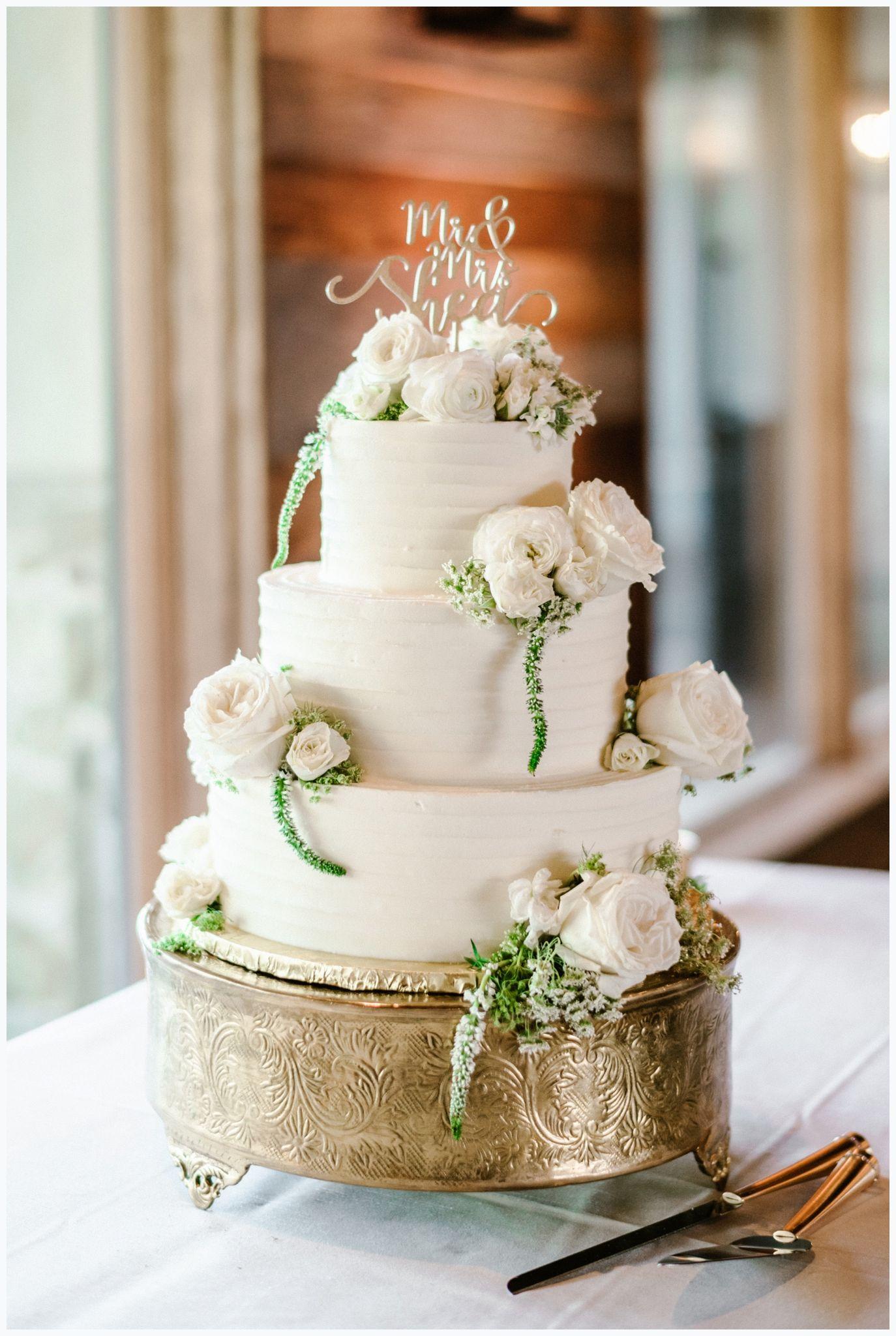 Simple Wedding Cake Simple Wedding Cake Wedding Desserts Austin Wedding