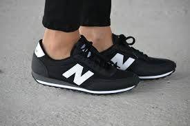 new balance blanca y negra