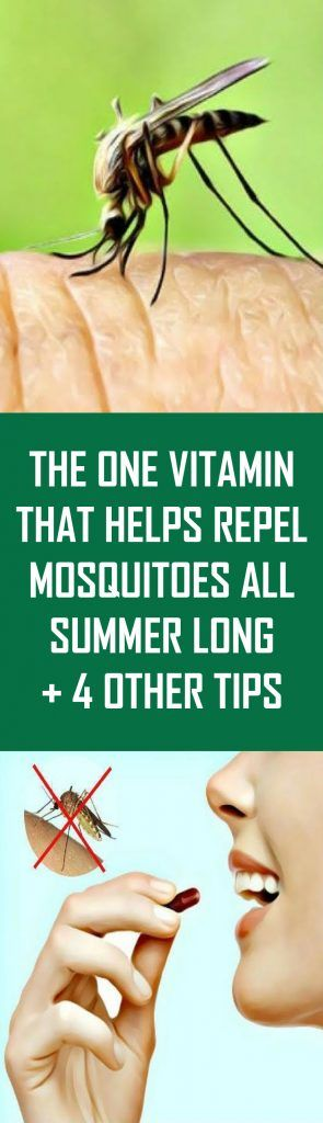 The one vitamin that helps repel mosquitoes all summer ...