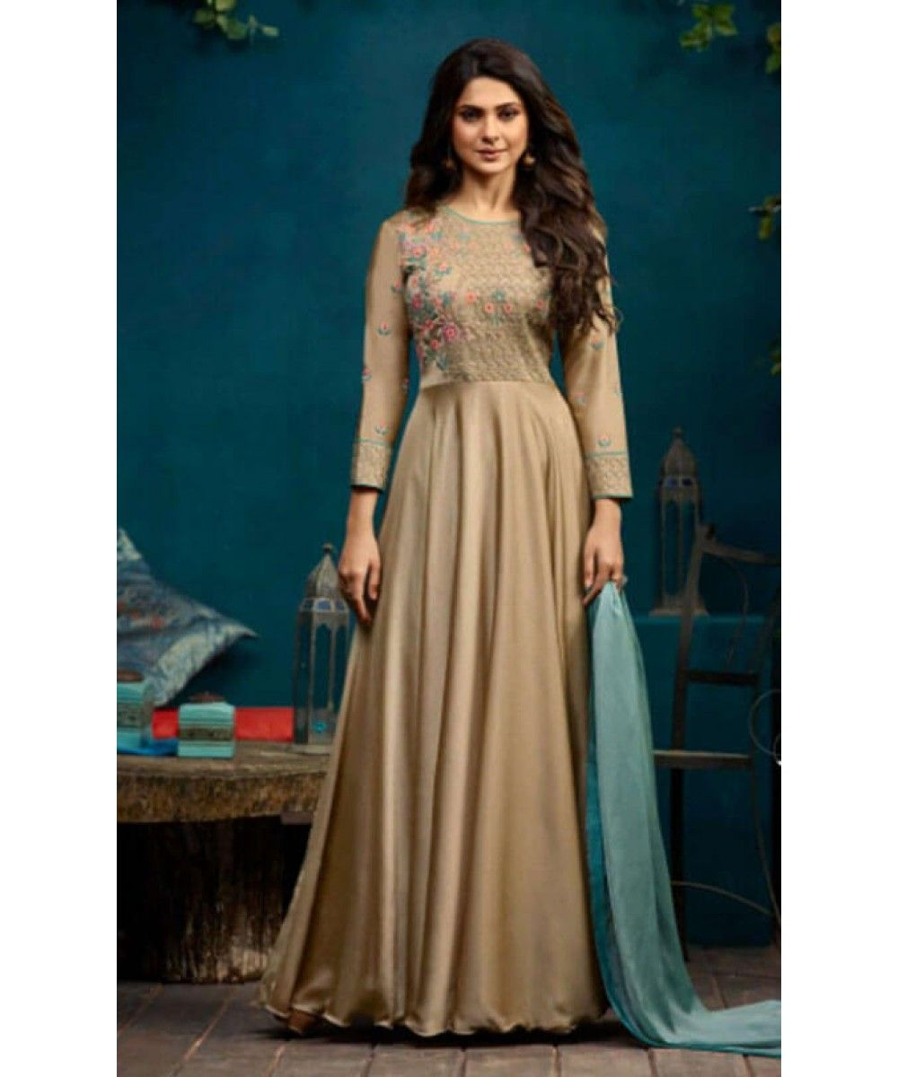 66f108b22a Designer Long Anarkali Suit | India USA UK Canada | Gown | Gown suit ...