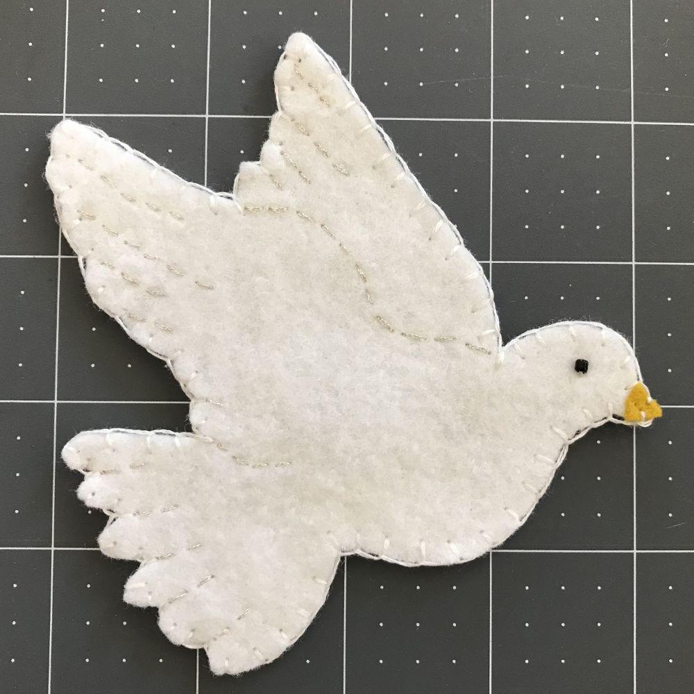 Dove Kit Beading needles, Christmas projects