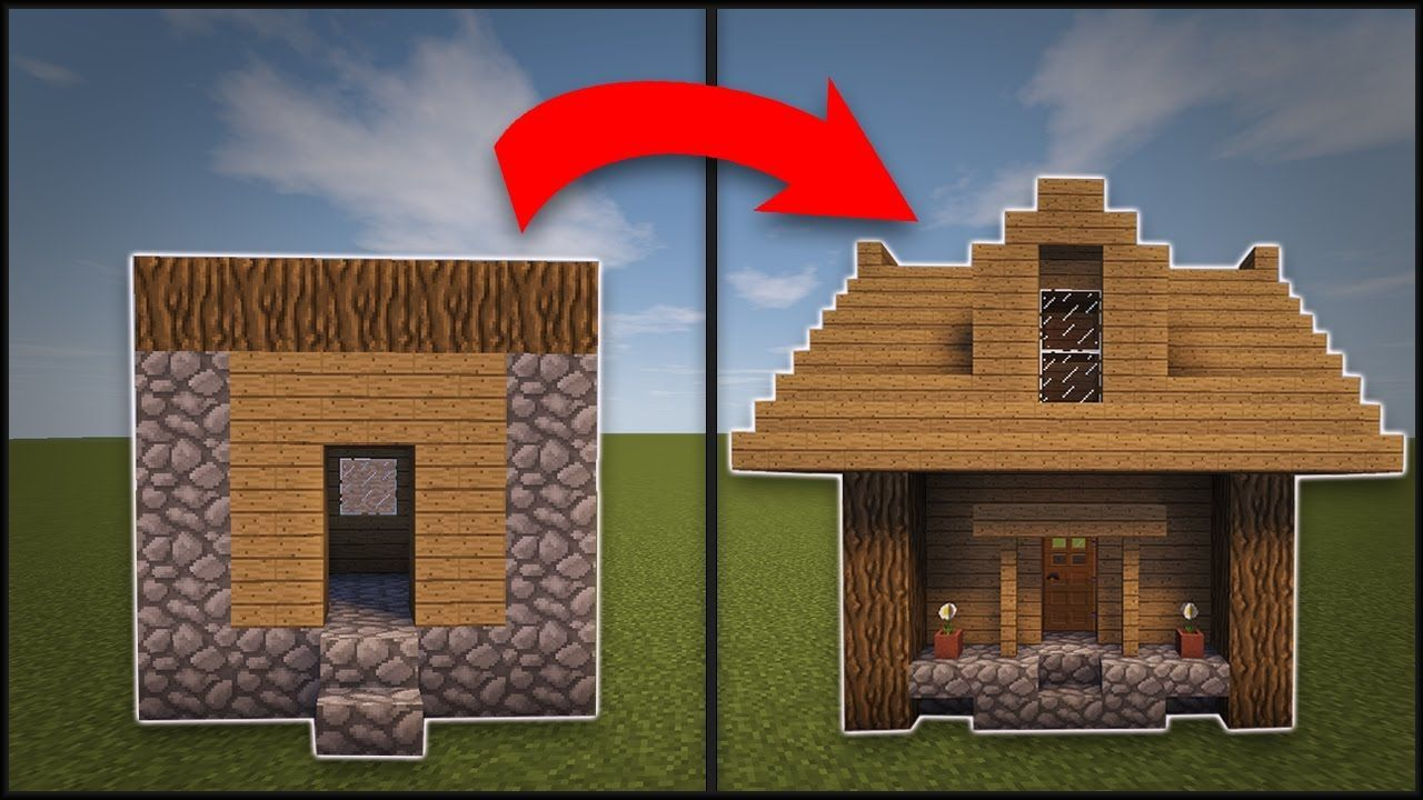 Minecraft How To Remodel A Village Small House