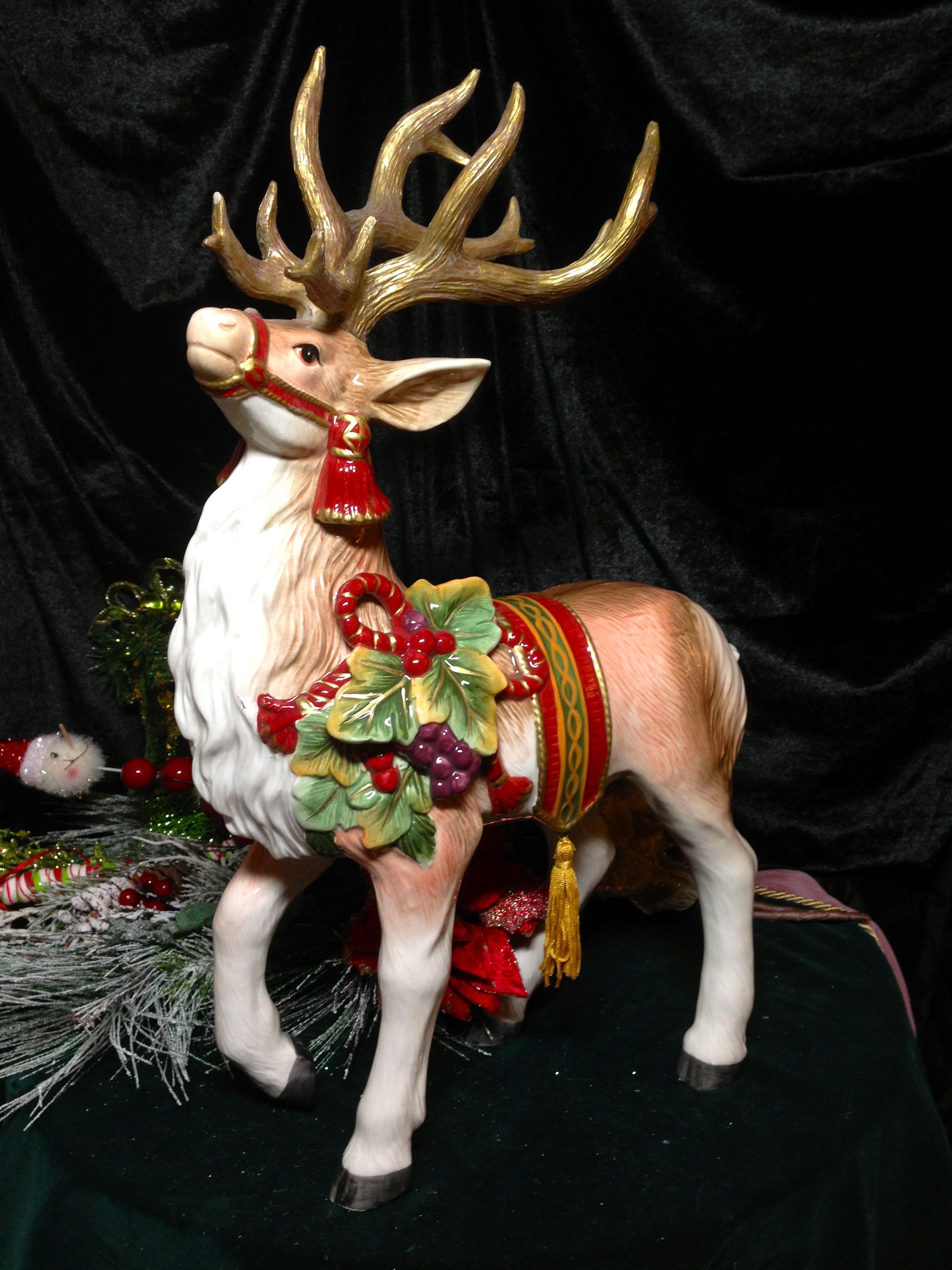 Fitz and Floyd Reindeer | Fitz and Floyd | Pinterest