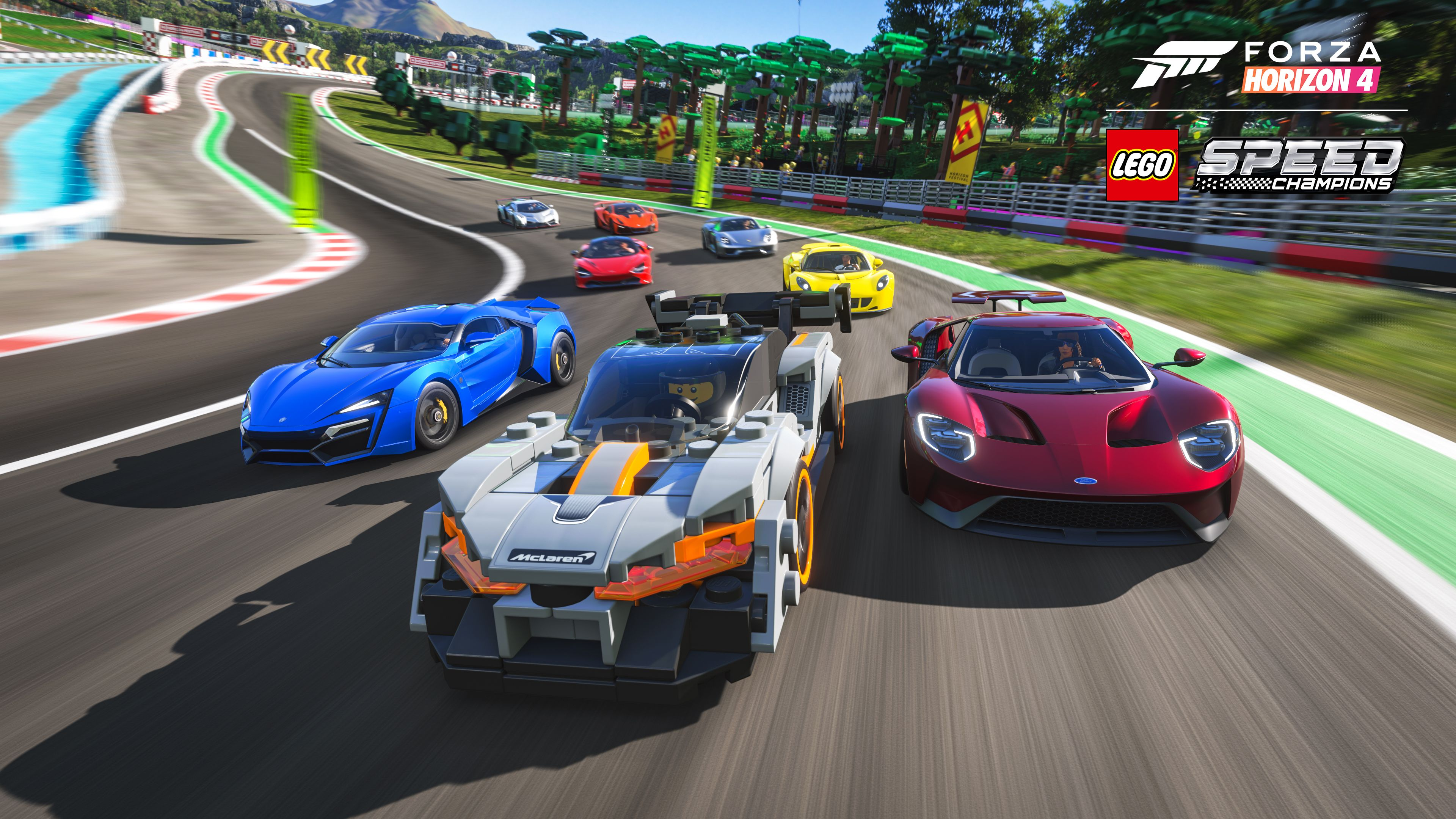 How To Get Lego Cars In Forza Horizon 4